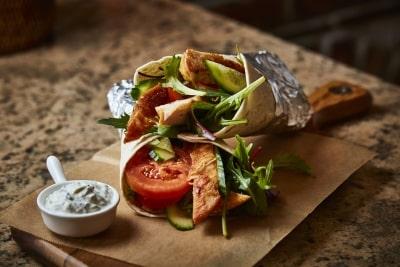 Hühner-Tortilla (2 Stück)