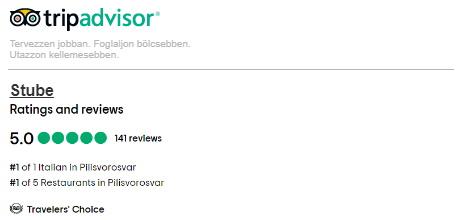 Stube étterem - TripAdvisor értékelés