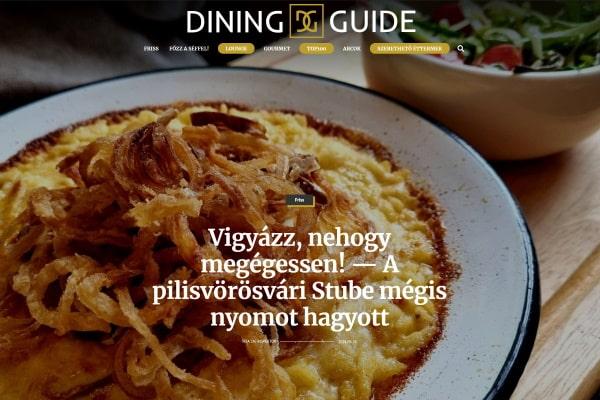 Dining Guide cikk Stube