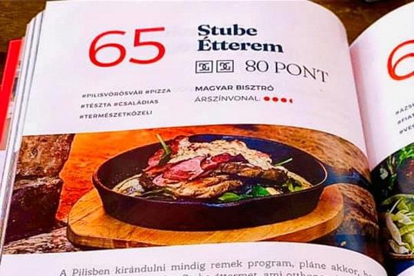 AUDI Dining Guide Stube 2021